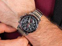 Zegarek z chronograf Citizen Radio Controlled AT8129-80E - duże 6