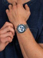 Zegarek z chronograf Lorus Sportowe RT331HX9 - duże 5
