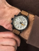 Zegarek z chronograf Timex Expedition TW2T73100 - duże 6