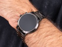 Fossil Smartwatch FTW4024 GEN 5 SMARTWATCH - THE CARLYLE HR SMOKE STAINLESS STEEL zegarek fashion/modowy Fossil Q
