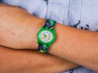 Zegarek zielony fashion/modowy  Dla dzieci TWG014900 pasek - duże 6
