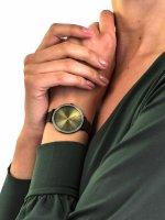 Zegarek zielony klasyczny Tommy Hilfiger Damskie 1782116 bransoleta - duże 5