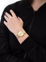 Zegarek złoty elegancki Adriatica Bransoleta A3712.114SQZ bransoleta - duże 5