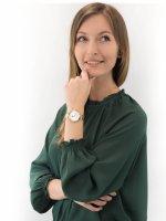 Zegarek złoty elegancki Lorus Fashion RG292MX9 bransoleta - duże 4