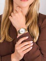Zegarek złoty elegancki Lorus Klasyczne RG214PX9 bransoleta - duże 5