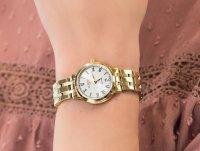 Zegarek złoty elegancki Roamer Superslender 515811.48.22.50 bransoleta - duże 6