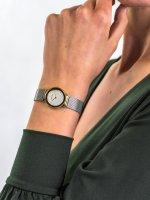 Zegarek złoty fashion/modowy Bering Classic 10126-001 bransoleta - duże 5