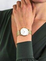 Zegarek złoty fashion/modowy Bering Classic 14134-331 bransoleta - duże 5