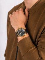 Zegarek złoty fashion/modowy Diesel Chief DZ4344 pasek - duże 5