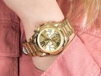 Zegarek złoty fashion/modowy Michael Kors Bradshaw MK5605 bransoleta - duże 6