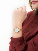 Zegarek złoty fashion/modowy Obaku Denmark Bransoleta V177LEGIMG bransoleta - duże 5
