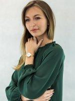 Zegarek złoty fashion/modowy Obaku Denmark Bransoleta V195LXGIMG bransoleta - duże 4