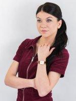 Rosefield QSCG-Q029 zegarek złoty fashion/modowy Boxy pasek
