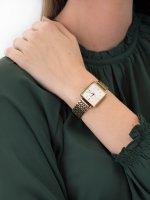 Zegarek złoty fashion/modowy Rosefield Boxy QWSG-Q09 bransoleta - duże 5