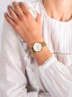 Zegarek złoty fashion/modowy Rosefield The Gabby NWG-N90 bransoleta - duże 5