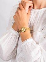 Zegarek złoty fashion/modowy Tommy Hilfiger Damskie 1781720 bransoleta - duże 5