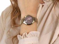 Anne Klein AK-3710PKGB zegarek klasyczny Bransoleta