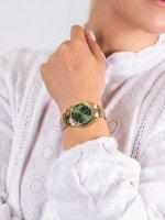 Zegarek złoty klasyczny  Scarlette ES4903 bransoleta - duże 5