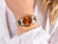 Zegarek złoty klasyczny  Scarlette ES4904 bransoleta - duże 6