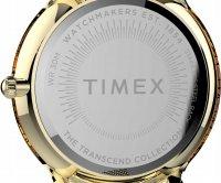 Timex TW2T74100 zegarek złoty klasyczny Transcend bransoleta