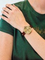 Anne Klein AK-2996CHRU damski zegarek Pasek pasek