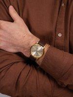 Zegarek złoty klasyczny Atlantic Sealine 62341.45.31 pasek - duże 5