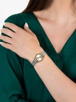 Zegarek złoty klasyczny Bering Classic 12924-001 bransoleta - duże 5