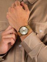 Zegarek złoty klasyczny Bulova Futuro 97D115 bransoleta - duże 5