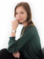 Zegarek złoty klasyczny Cluse Feroce CW0101212005 bransoleta - duże 4
