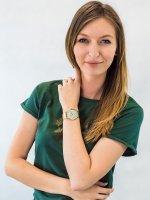 Zegarek złoty klasyczny Cluse La Boheme CW0101201027 bransoleta - duże 4