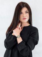 Zegarek złoty klasyczny Cluse La Roche CL40105 pasek - duże 4