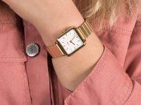 Cluse CL60023S Single Link Gold/White zegarek klasyczny La Tetragone