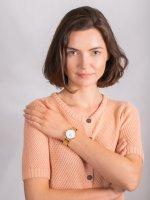 Zegarek złoty klasyczny Cluse Triomphe CW0101208014 bransoleta - duże 4