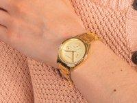 Zegarek złoty klasyczny Esprit Damskie ES1L099M0065 bransoleta - duże 6