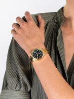 Zegarek złoty klasyczny Fossil FB-01 ES4746 bransoleta - duże 5
