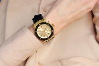 Zegarek złoty klasyczny Guess Pasek GW0030L2 pasek - duże 10