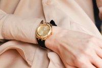 Zegarek złoty klasyczny Guess Pasek GW0034L1 pasek - duże 9