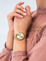 Zegarek złoty klasyczny Lacoste Damskie 2001128 bransoleta - duże 5