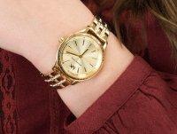 Zegarek złoty klasyczny Michael Kors Lexington MK6739 bransoleta - duże 6