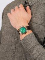 Zegarek złoty klasyczny Orient Classic FAC08002F0 pasek - duże 5