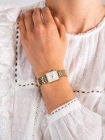 Zegarek złoty klasyczny Rosefield Boxy BMWMG-X240 bransoleta - duże 5