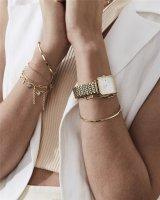 Zegarek złoty klasyczny Rosefield Boxy BWSBG-X242 bransoleta - duże 7
