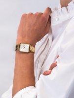 Zegarek złoty klasyczny Rosefield Boxy QWSG-Q041 bransoleta - duże 5