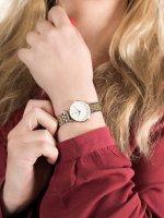 Zegarek złoty klasyczny Rosefield The Small Edit 26SGD-269 bransoleta - duże 5