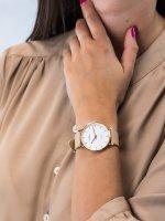 Rubicon RNAD75GISX03BX zegarek klasyczny Pasek