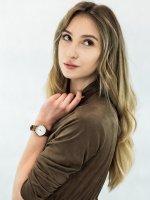 Zegarek złoty klasyczny Timex Easy Reader TW2T72300 pasek - duże 4