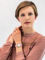 Zegarek złoty klasyczny Timex Easy Reader TW2U22000 pasek - duże 4