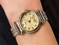 Zegarek złoty klasyczny Timex Model 23 TW2T88600 bransoleta - duże 6