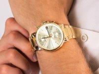 Zegarek złoty klasyczny Tommy Hilfiger Męskie 1710415 bransoleta - duże 6