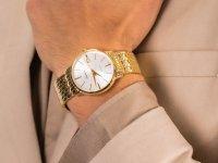 zegarek Adriatica A1243.1113QS złoty Bransoleta